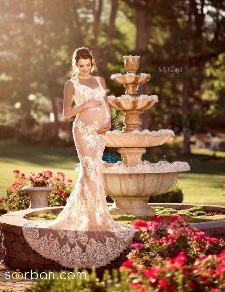 لباس شب حاملگی ۲۰۲۱ بسیار شیک و جذاب
