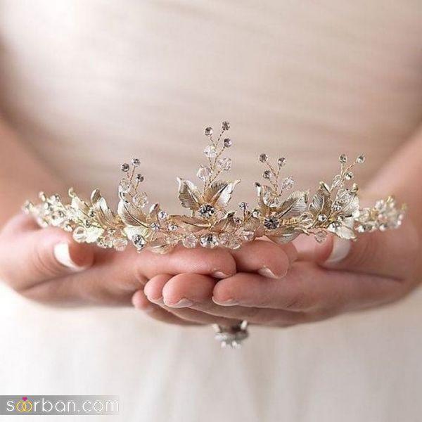 تصاویری شیک و جذاب از تاج عروس ۲۰۲۰