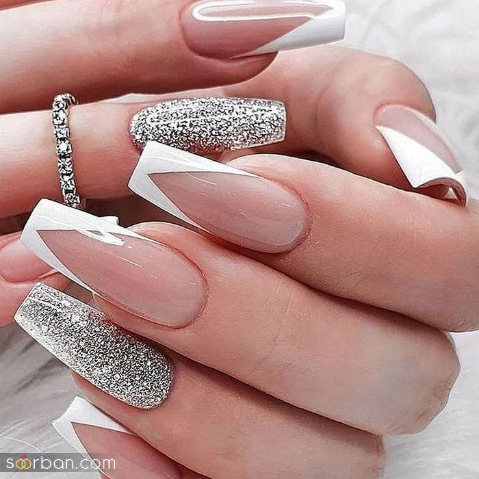 مدل طراحی ناخن عروس زیبا ۱۴۰۰ ؛ بهترین مدل طراحی ناخن عروس ۲۰۲۱