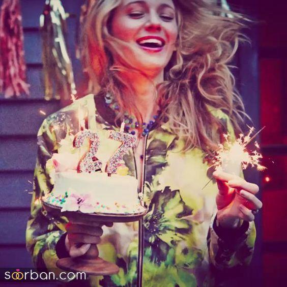 ایده عکاسی با کیک تولد مخصوص دخترهای خوش عکس!