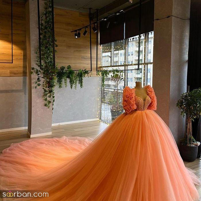 انواع مدل لباس نامزدی ۱۴۰۰ رنگ بندی زیبا سال ۲۰۲۱