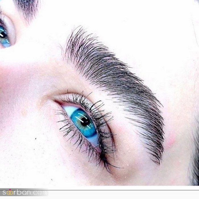 انواع مدل ابرو دخترانه ۲۰۲۱ رنگ بندی زیبا سال ۱۴۰۰