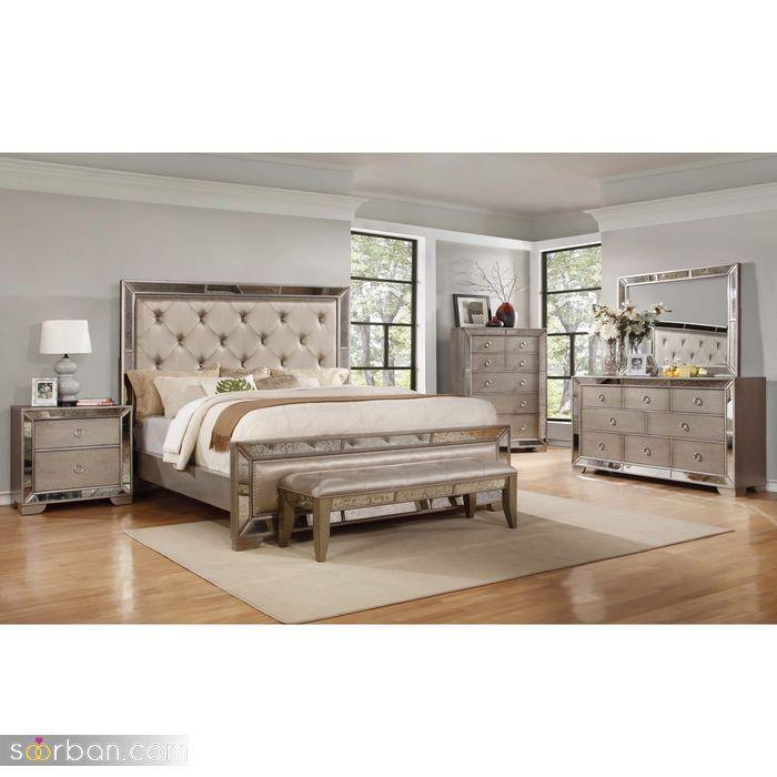 جدیدترین مدلهای سرویس خواب عروس داماد ۲۰۲۱ لاکچری