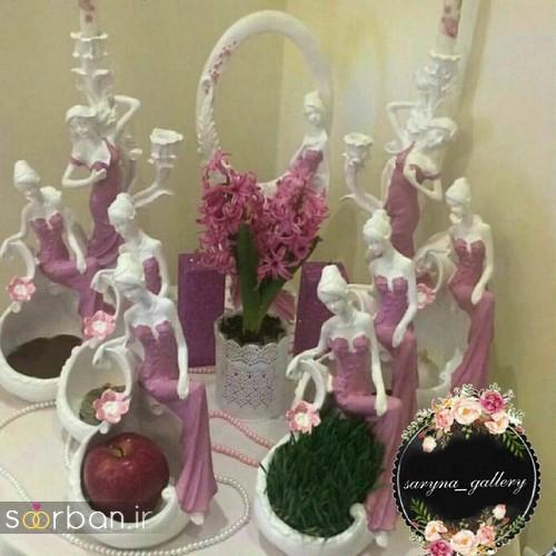 مدل ظرف هفت سین عروس جدید 6