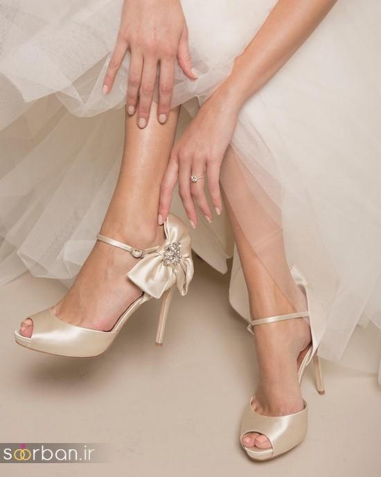 27 کفش عروس جدید و بینظیر که عاشقشان می شوید!