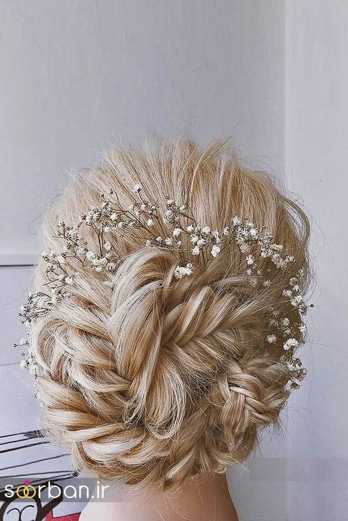 مدل مو عروس برای مو بلند7