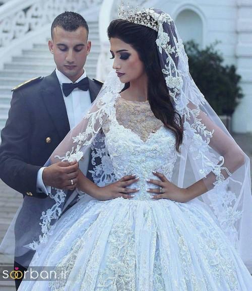 عکس عروس و داماد ایرانی در آتلیه