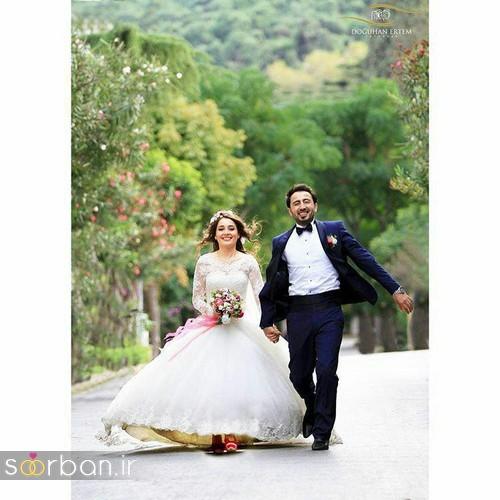 عکس سرمجلسی عروس و داماد ایرانی