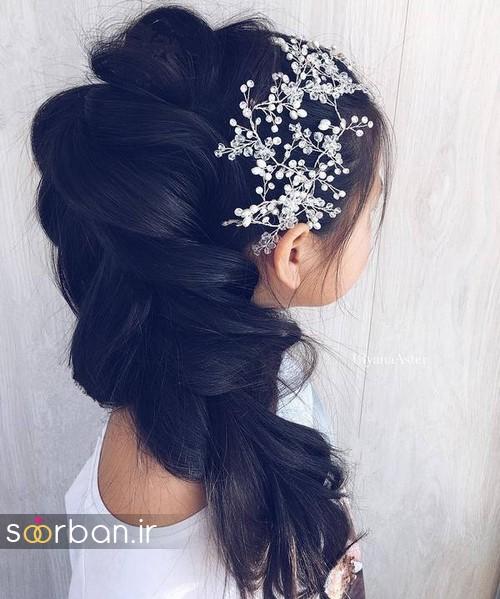 مدل مو باز عروس2