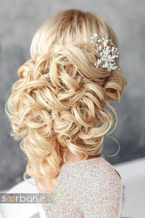 مدل مو باز عروس4