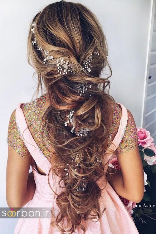 مدل مو باز عروس5