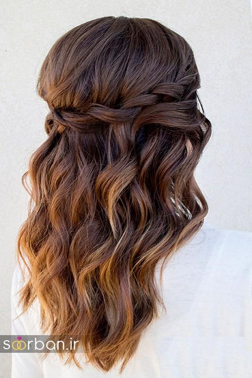 مدل مو باز عروس7