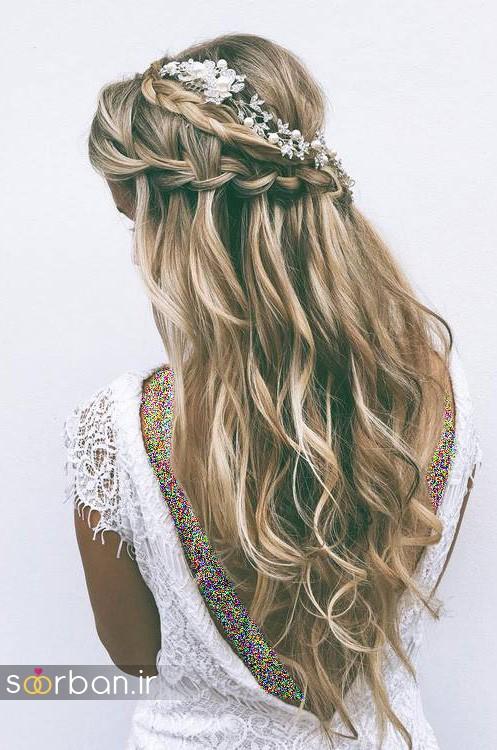 مدل مو باز عروس10