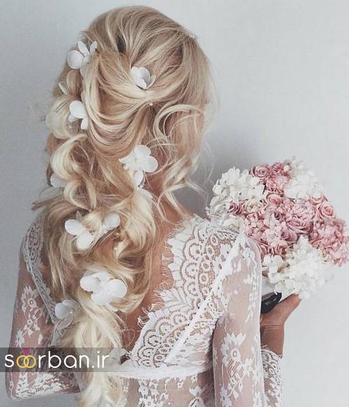 مدل مو باز عروس13