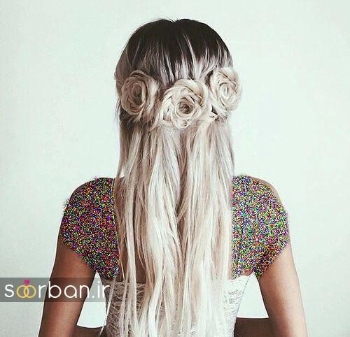 مدل مو باز عروس14