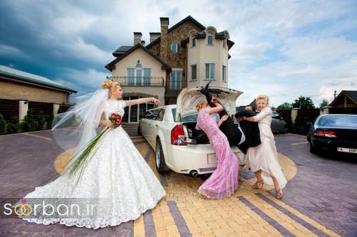 عکس های خلاقانه عروسی-5