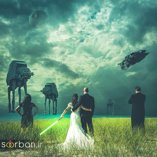 عکس های خلاقانه عروسی-11