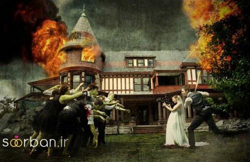 عکس های خلاقانه عروسی-1