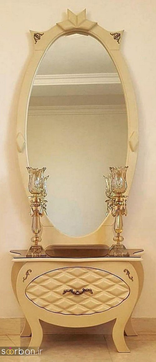 آینه کنسول جهیزیه عروس شیک17