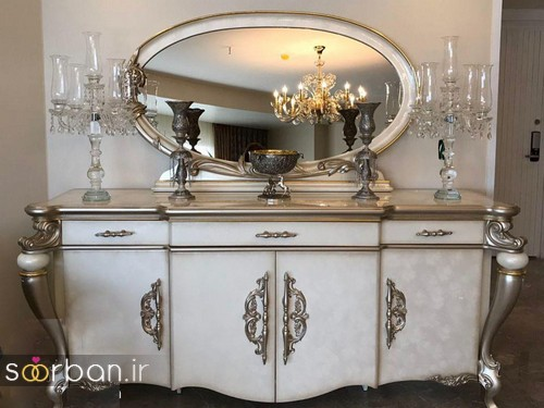 آینه کنسول جهیزیه عروس شیک18