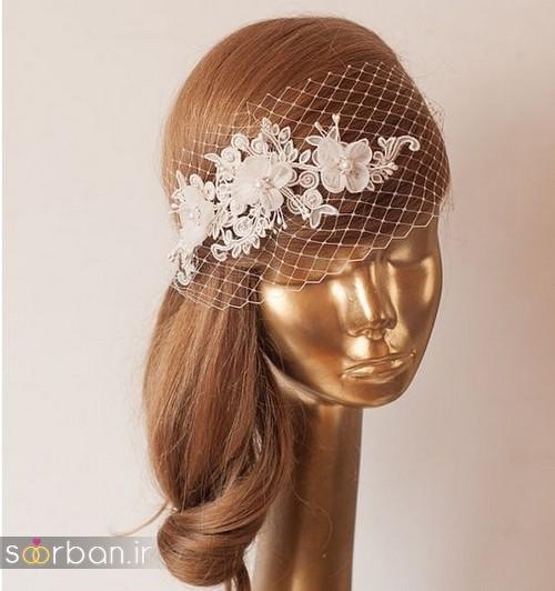 مدل های اکسسوری مو عروس زیبا و جدید