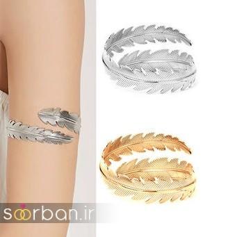 مدل بازوبند طلا عروس جدید-5