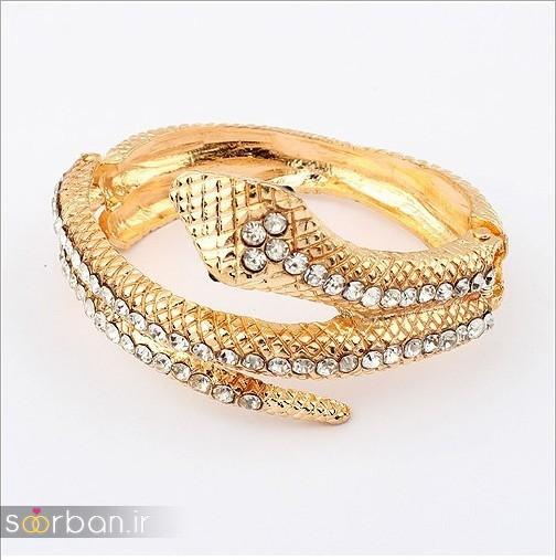 مدل بازوبند طلا عروس جدید-6