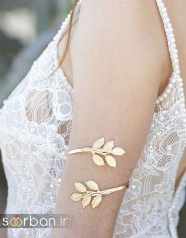 مدل بازوبند طلا عروس جدید-11