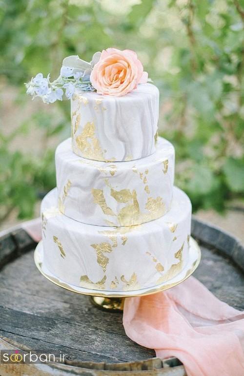کیک عروسی خاص و درخشان01