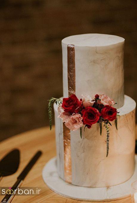 کیک عروسی خاص و درخشان3