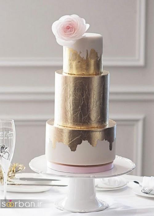 کیک عروسی خاص و درخشان05