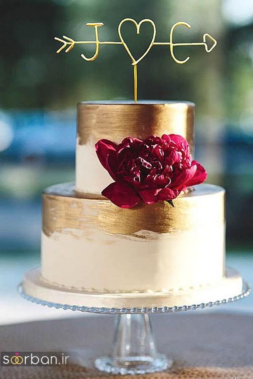 کیک عروسی خاص و درخشان6