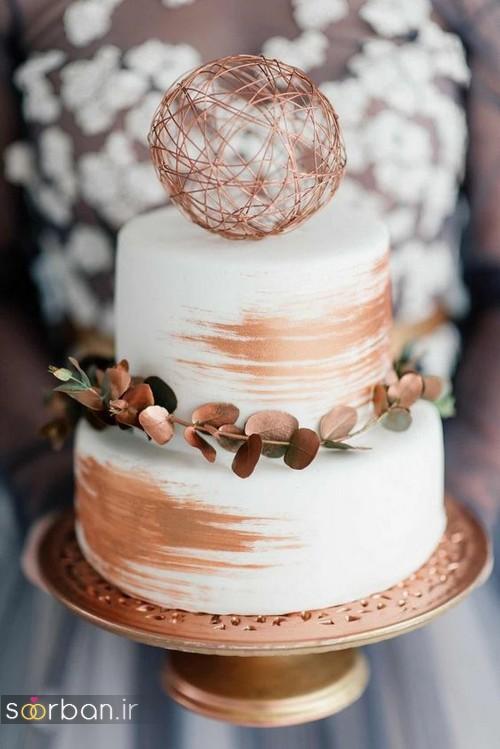 کیک عروسی خاص و درخشان7