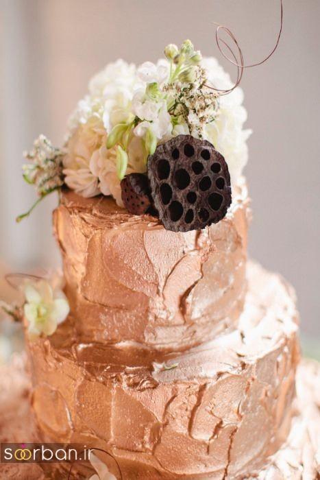 کیک عروسی خاص و درخشان10