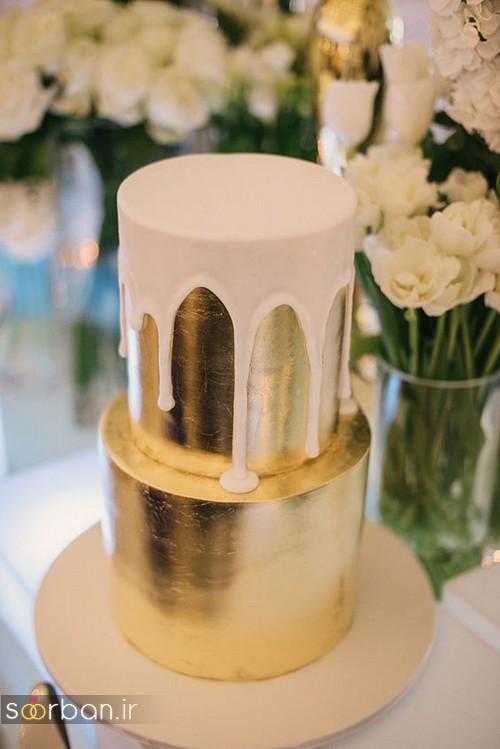 کیک عروسی خاص و درخشان11