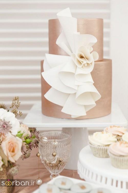 کیک عروسی خاص و درخشان14