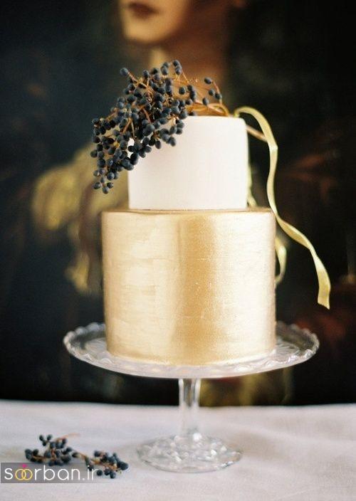 کیک عروسی خاص و درخشان16