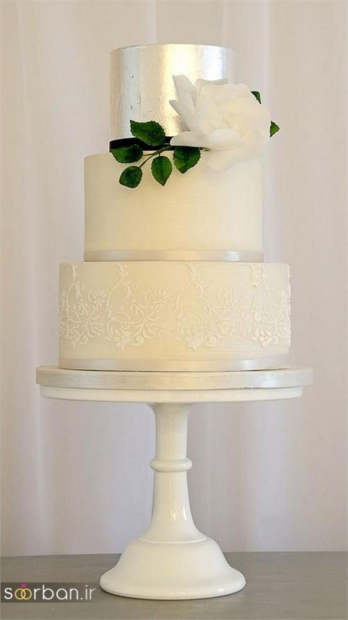 کیک عروسی خاص و درخشان21