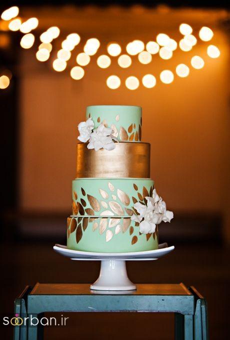 کیک عروسی خاص و درخشان26