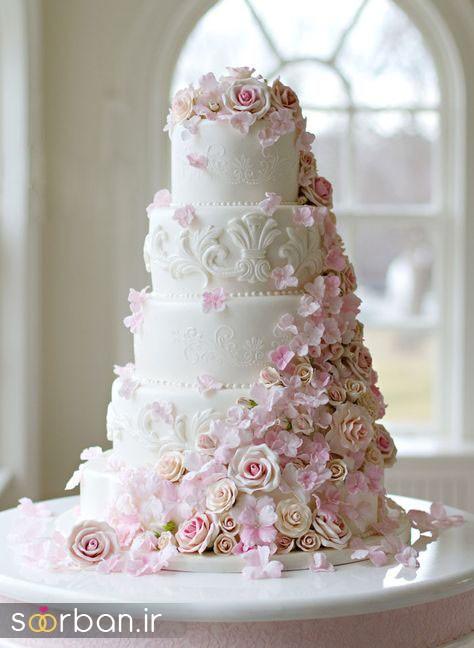 کیک عروس 2017 طبقاتی 2