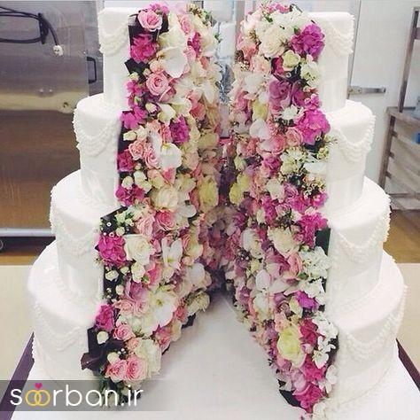 کیک عروس 2017 طبقاتی 3