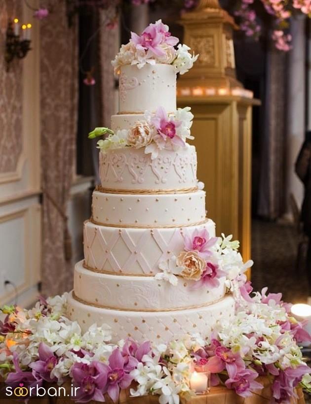 کیک عروس 2017 طبقاتی 7