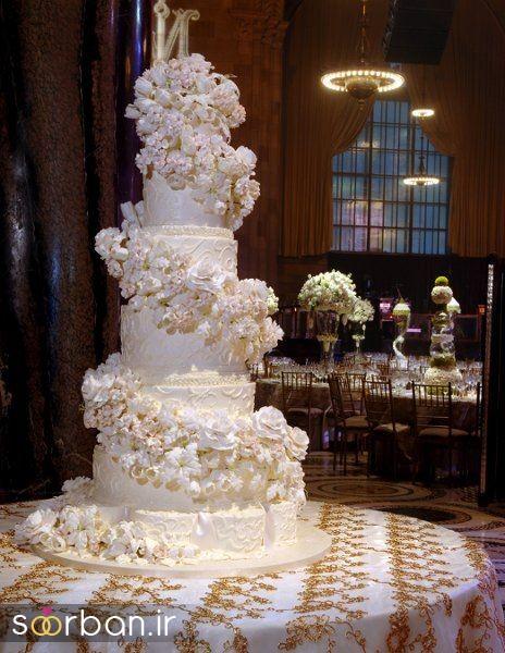 کیک عروس 2017 طبقاتی 8