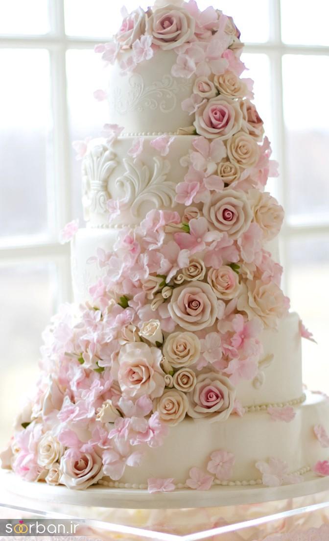 کیک عروس 2017 طبقاتی 9