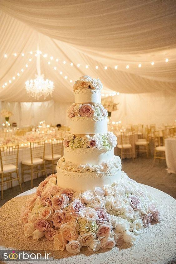 کیک عروس 2017 طبقاتی 10