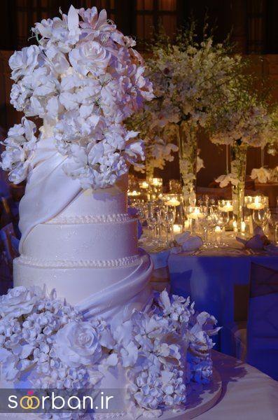 کیک عروس 2017 طبقاتی 11