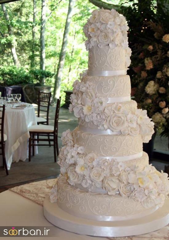 کیک عروس 2017 طبقاتی 14