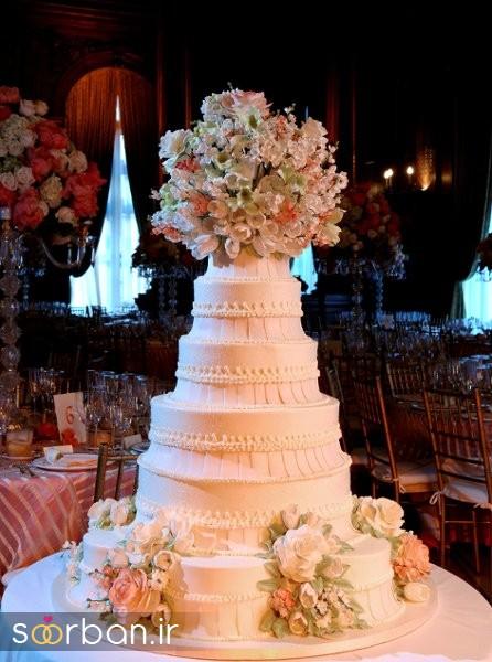کیک عروس 2017 طبقاتی 15