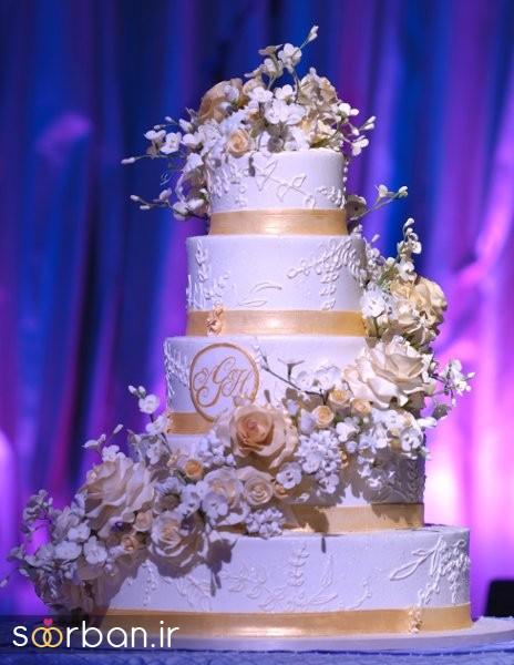 کیک عروس 2017 طبقاتی 16