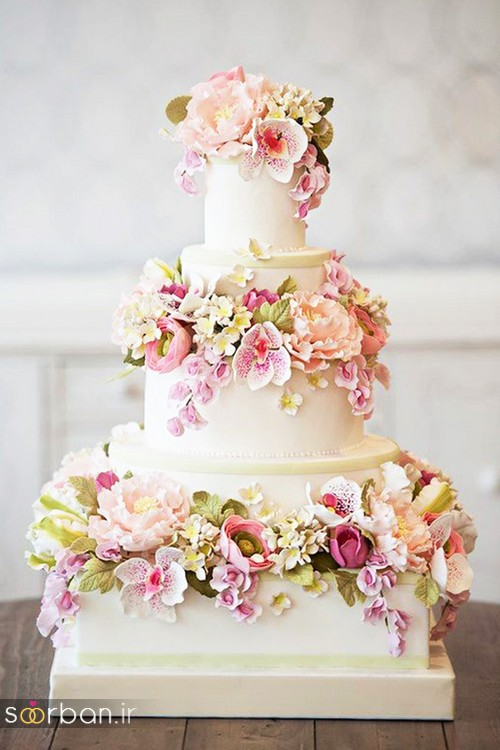 محبوبترین کیک های عروسی5